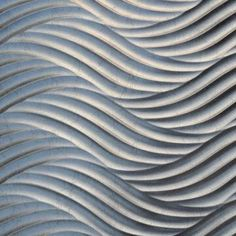 Decorative Wave Wall Panel in Silver Color, with Thicknesses of 1 to 18mm