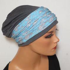 BEANIE mit Band ideal nach Chemotherapie Alopezie von Kopf & Kragen Design auf DaWanda.com