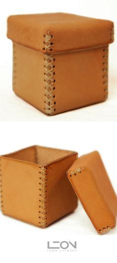 Basic leather box.