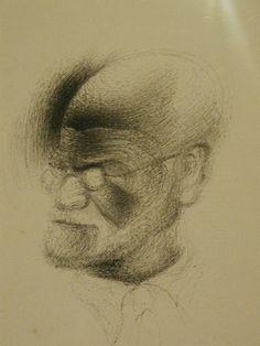 Dali's portrait of Freud