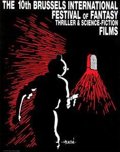 Festival International du Film Fantastique et de Science-Fiction de Bruxelles 1992 (by Hergé)
