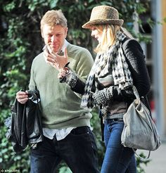 Family day out! Sean Bean goes for a walk with his girlfriend Ashley, daughter Lorna and her boyfriend