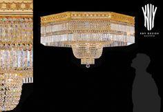 Crystal Ceiling Light, Ceiling Lighting, Swarovski, Decorative Lighting, Led, Light Decorations, Chandelier, Lights, Crystals