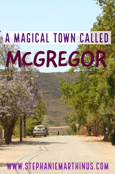 A town where time stands still? Where roads lead to nowhere and surrounded by friendly people? Then you can't blame us for jumping at the chance to discover the magical town called McGregor. Time Stood Still, Africa Travel, Blame, Small Towns, Roads, South Africa, Road Trip, Meet, People