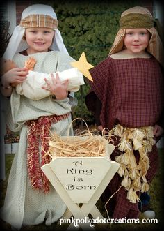 Easy Nativity costumes!