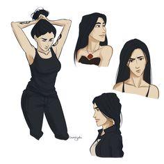 Isabelle doodles by taratjah,