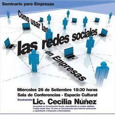 Capacitación de 4 horas de Cecilia Nuñez en Uruguay para Marcas en Redes Sociales (cómo comunicar y cómo vender)
