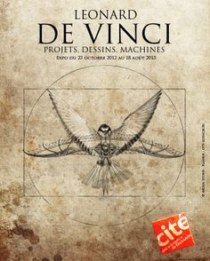 Poster inspired by the exhibition Leonardo da Vinci, projects, drawings, machine . Leonardo Da Vinci Dibujos, Da Vinci Inventions, Russian Tattoo, Science Art, Renaissance Art, Fractal Art, Sacred Geometry, Drawing S, Great Artists