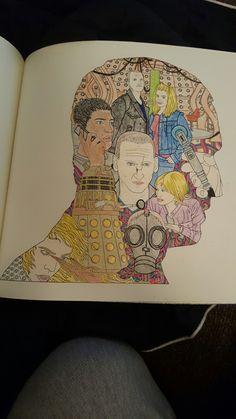 Doctorwho Doctorwhocoloringbook Coloringbook Nine Areyoumymummy