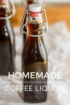 How to make Homemade Coffee Liqueur {Kahlua} {Recipe} {Cocktail} » Or Whatever You Do