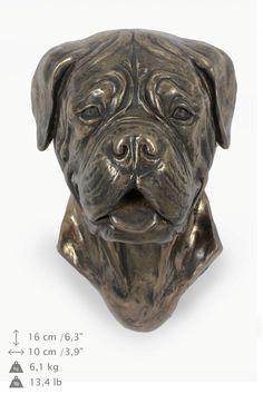 Dog de Bordeaux dog hanging statue limited by ArtDogshopcenter