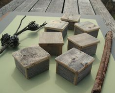 Rustic ring box from Paradise Hill Designs