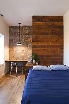 Guest room. Minimalistic.