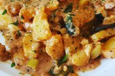 Hähnchen-Kartoffel Auflauf