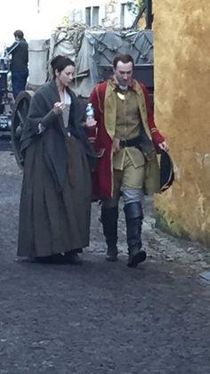 Caitriona Balfe as Claire Fraser in Season 2