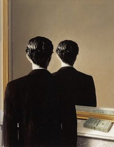 Not to be Reproduced (La reproduction interdite, 1937) by René Magritte