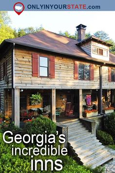 Travel | Georgia | Attractions | USA | East Coast | Weekend Getaway | Things To Do | Vacations } Places To Visit | Hidden Gems | Beautiful Places | Places To Stay | Inn | Small Towns | Bed & Breakfast | Accommodations | Lodge | Unique Hotels | Outdoor | Adventure | Resorts | Spas | Mountains