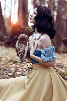 白雪姫も大人な演出で素敵に変身♬