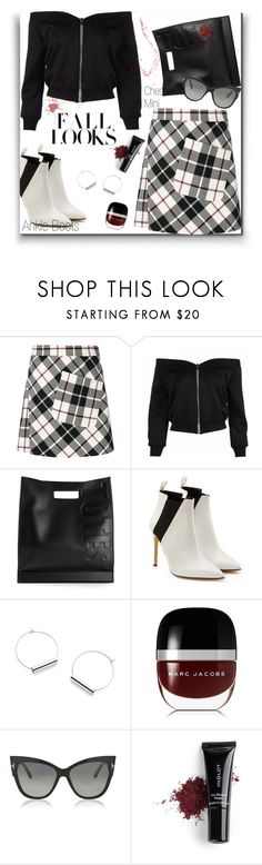 """Ankle Boots!"" by prettynposh2 ❤ liked on Polyvore featuring Etro, 3.1 Phillip Lim, H&M, Rupert Sanderson, Marc Jacobs, Tom Ford, Inglot, no, ankle and Checkered"