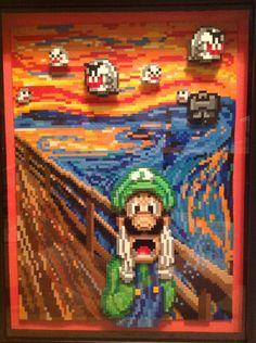 Luigi Scream by Rrilltrae on DeviantArt Super Mario Bros, Super Mario World, Super Mario Brothers, Super Smash Bros, Super Nintendo, Digimon, Deco Gamer, Legend Of Zelda, Classic Video Games