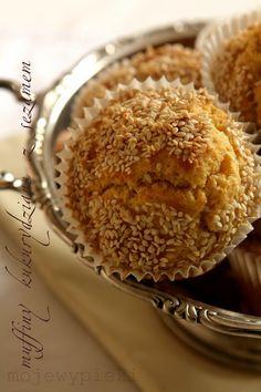 Muffiny kukurydziane z sezamem