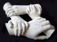 Family Hand Casting of four
