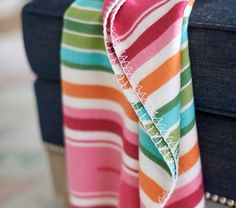 Junk Gypsy Stripe Baby Blanket #pbkids