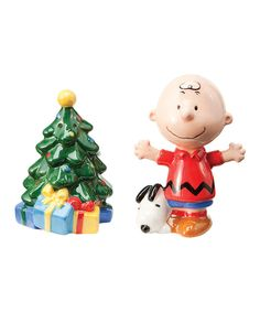 Take a look at this Vandor Peanuts Holiday Salt & Pepper Shakers on zulily today!