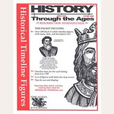 History Through the Ages Timeline Figures Resurrection to Revolution – on Cardstock