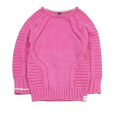Agatha Cub Fuscia Knit Pullover – Baby Love Luna