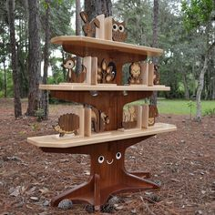 happy tree bookshelf. Link to Tree measurements. Dad could so make this!