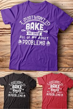 Do you love baking and ignore all of your adult problems? You got to love this cute and funny baking shirt then! :) This tee can be a perfect gift idea for you or your friends and family. Also a great outfit to go out. Available here: https://teespring.com/613_bk_ignr?v=mk-tr-t