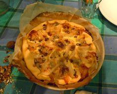 Le Cose Sono Come Sono: Torta gorgonzola, pere ...e San Savino