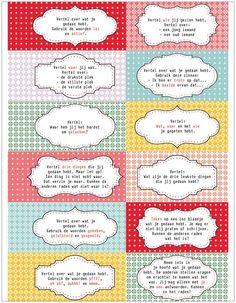 Praatkaarjes uit Juf van Malmberg