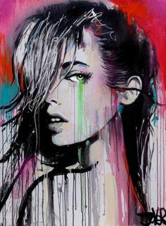 "Saatchi Art Artist Loui Jover; Painting, ""now or never again"" #art"