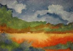 Watercolor aceo by Lynne Howard