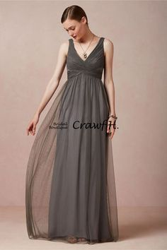 日本未入荷★BHLDN★<全3色>シンプルなチュールマキシ丈ドレス