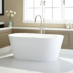Eden Acrylic Freestanding Tub - Freestanding Tubs - Bathtubs - Bathroom