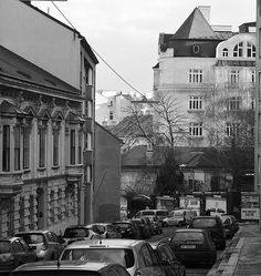 B/W The Other Side, Shades Of Grey, Vienna, Street View, Gray, Ash, Shades Of Gray Color, Grey, Repose Gray