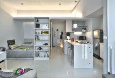 New Taipei City studio apartment (featured at iDesignArch)