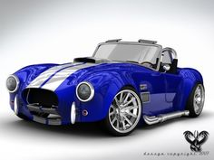 Shelby Cobra~ the Throttle Jockey's nemisis... this thing is mean and nasty in a nice candy shell... I want one!!