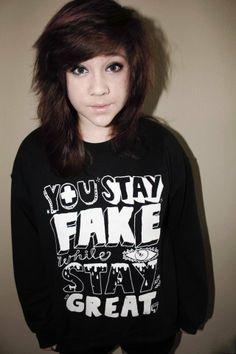 Stay Fake (Crewneck Sweatshirt) | STAY GREAT APPAREL