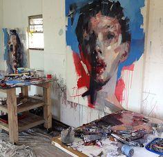 stadtjunge:    Ryan Hewett.2012.Mixed Media.