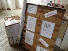 Woohoo! After a very long wait some new Anne Penman Sweet paintings have arrived @cupolagallery all the way fromAustralia! Can't wait to open these!!