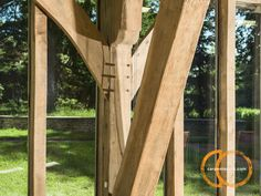 Looking for timber frame companies? Timber framed buildings by Carpenter Oak Ltd, experts in timber framed construction & timber frame commercial buildings. Construction, Outdoor Structures, Detail, Building, Frame, Picture Frame, Buildings, Frames