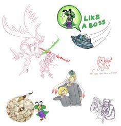 Amaterasu sketch LIKE A BOSS
