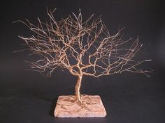 50th Wedding Annivesary Gift  Golden Tree by FeathersOfTheForest