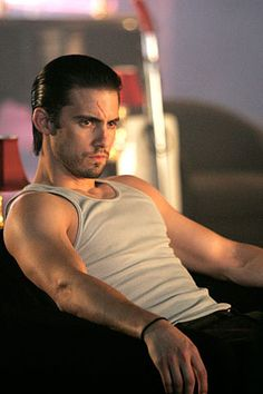 Milo Ventimiglia as Peter Petrelli in Heroes; Future!Peter is so badass.  And sexy.