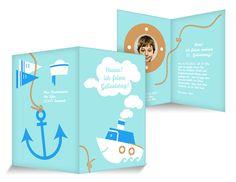 Volldampf Einladungskarten Kindergeburtstag