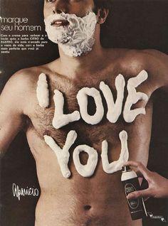 Citro creme de barbear #Brasil #anos70 #retro #anunciosAntigos #vintageAds